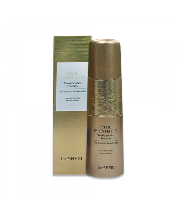 [THESAEM] Snail Essential EX Wrinkle Solution Emulsion - 150ml