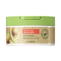 [THESAEM] Natural Daily Avocado Body Cream - 300ml