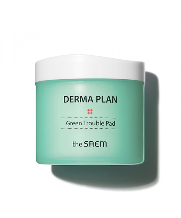 [THESAEM] Derma Plan Green Trouble Pad - 1pack (70pcs)