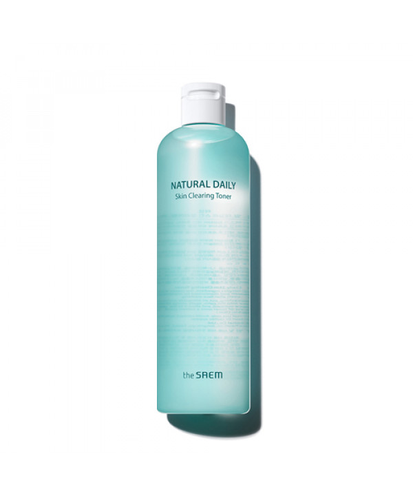 W-[THESAEM] Natural Daily Skin Clearing Toner - 500ml x 10ea
