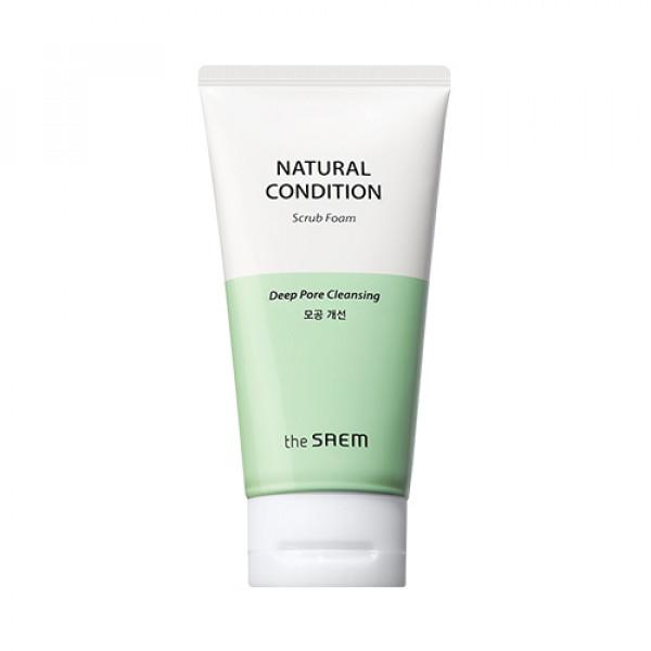 [THESAEM] Natural Condition Scrub Foam Deep Pore Cleansing - 150ml