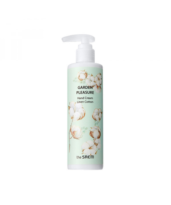 [THESAEM] Garden Pleasure Hand Cream Linen Cotton - 250g