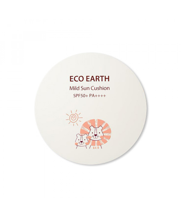 [THESAEM] Eco Earth Mild Sun Cushion - 12g (SPF50+ PA++++)