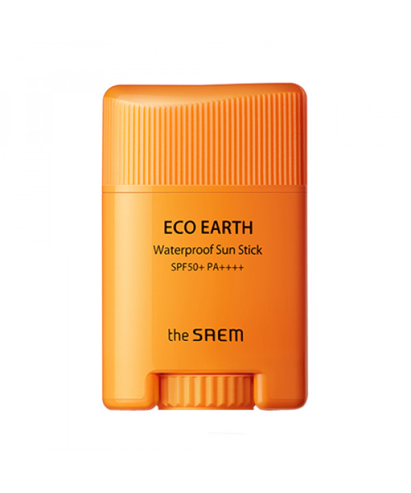 W-[THESAEM] Eco Earth Waterproof Sun Stick - 17g (SPF50+ PA++++) x 10ea