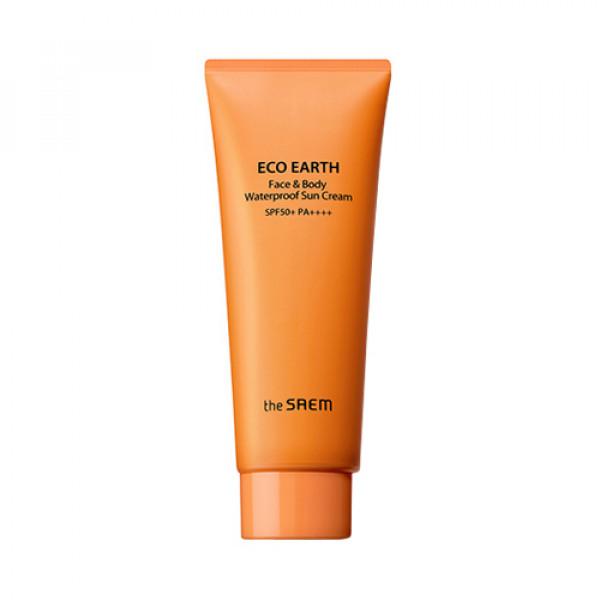 [THESAEM] Eco Earth Face & Body Waterproof Sun Cream - 100g (SPF50+ PA++++)