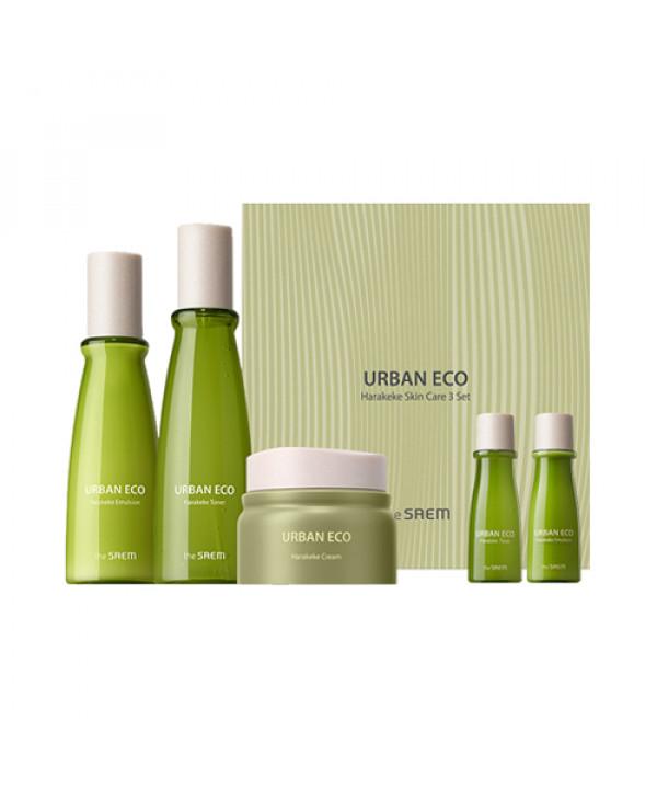 W-[THESAEM] Urban Eco Harakeke Skin Care 3 Step Set - 1pck (5items) x 10ea