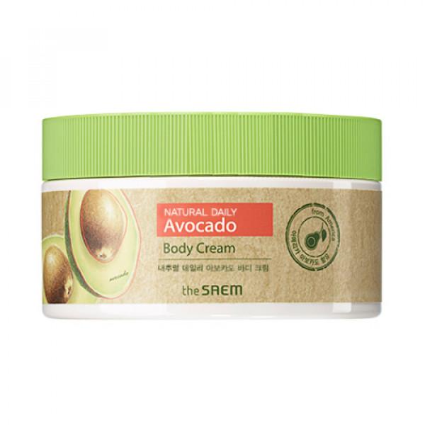 [THESAEM] Natural Daily Avocado Body Cream (2020) - 300ml