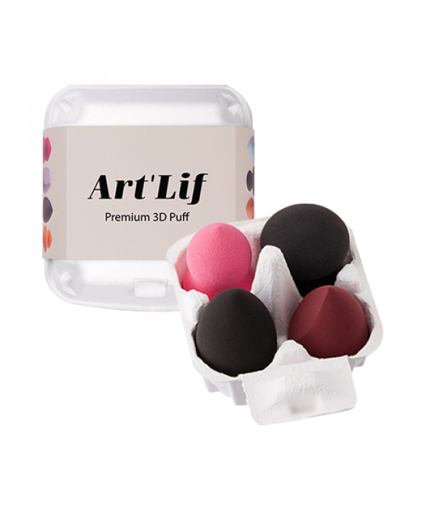 [THESAEM] Artlif Premium 3D Puff - 1pack (4pcs)