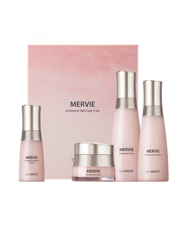 W-[THESAEM] Mervie Actibiome Skin Care 3 Set - 1pack (4items) x 10ea