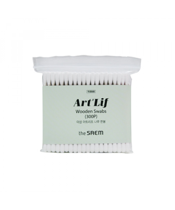 [THESAEM] Artlif Wooden Swabs - 1pack (300pcs)