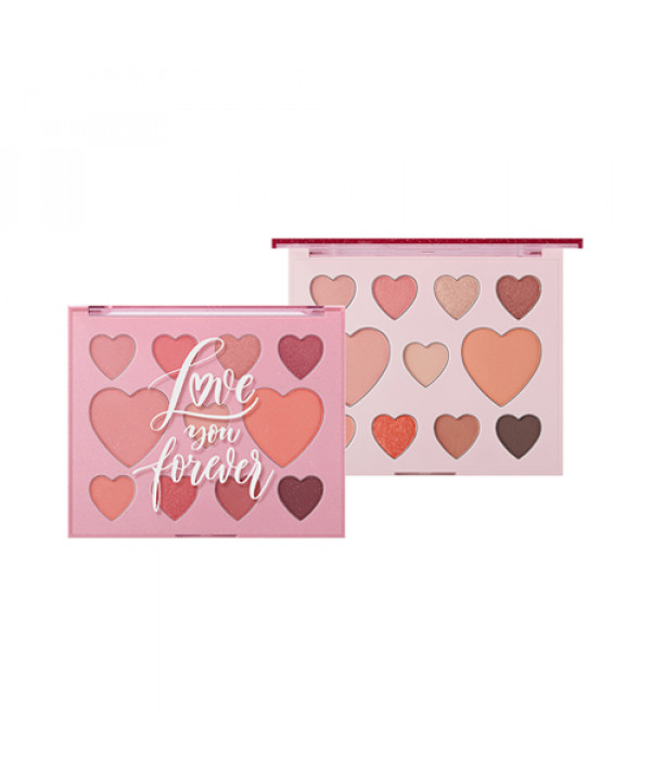 W-[THESAEM] Love Me Multi Palette (How Lovely) (2020 Limited Edition) - 24.5g x 10ea