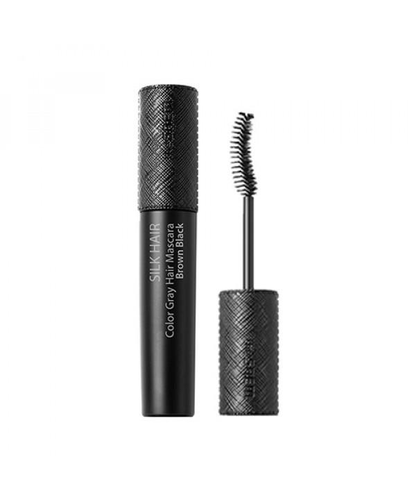 [THESAEM] Silk Hair Color Gray Hair Mascara Brown Black - 10ml