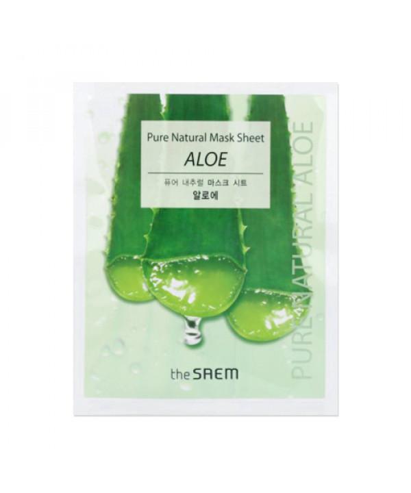 [THESAEM_50% SALE] Pure Natural Mask Sheet Aloe - 10pcs