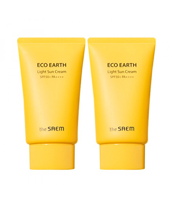 [THESAEM] Eco Earth Light Sun Cream (+Gift) - 50g (SPF50+ PA++++)