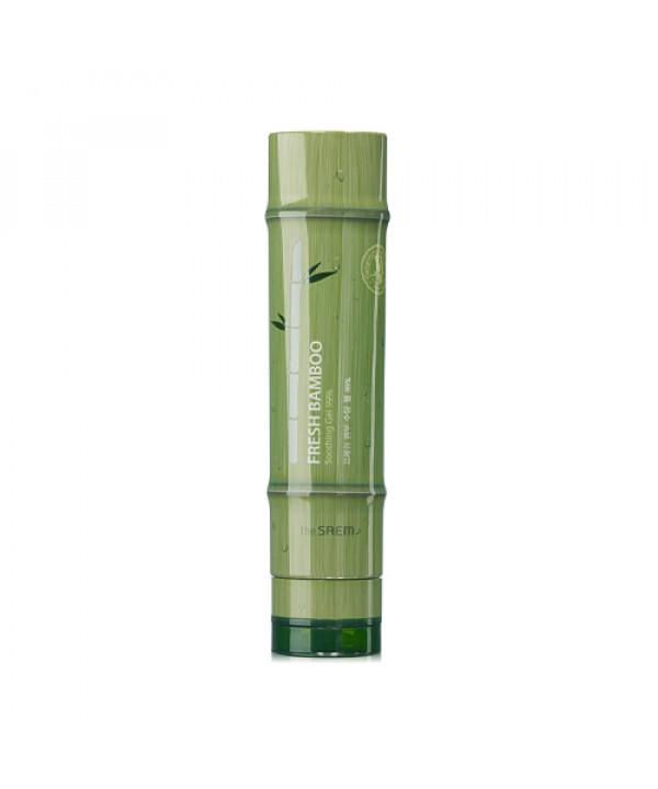 W-[THESAEM] Fresh Bamboo Soothing Gel 99% - 260ml x 10ea