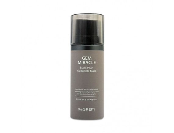[THESAEM] Gem Miracle Black Pearl O2 Bubble Mask - 105g