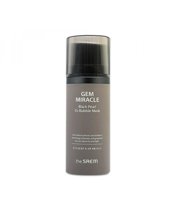 [THESAEM] Gem Miracle Black Pearl O2 Bubble Mask - 105g