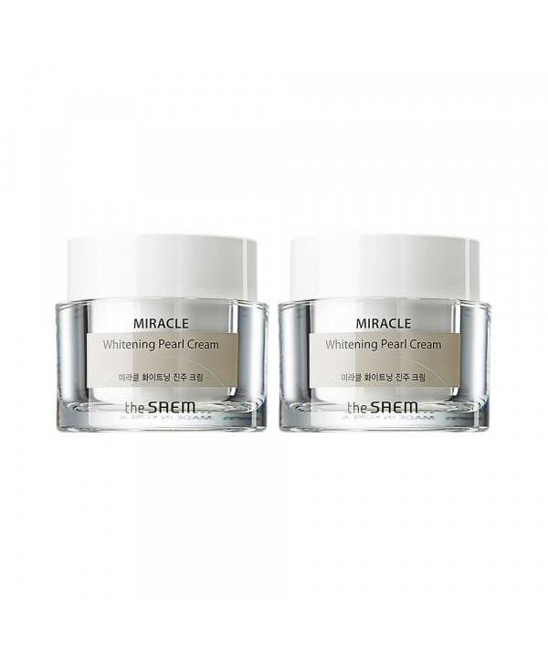 [THESAEM] 1+1 Miracle Whitening Pearl Cream - 50ml