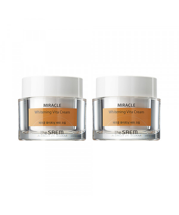 [THESAEM] 1+1 Miracle Whitening Vita Cream - 50ml