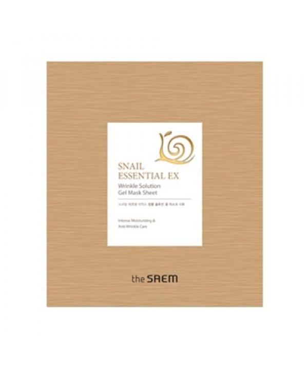 [THESAEM_LIMITED] Snail Essectial EX Wrinkle Solution Gel Mask Sheet - 1pcs (EXP 2021.09.19)