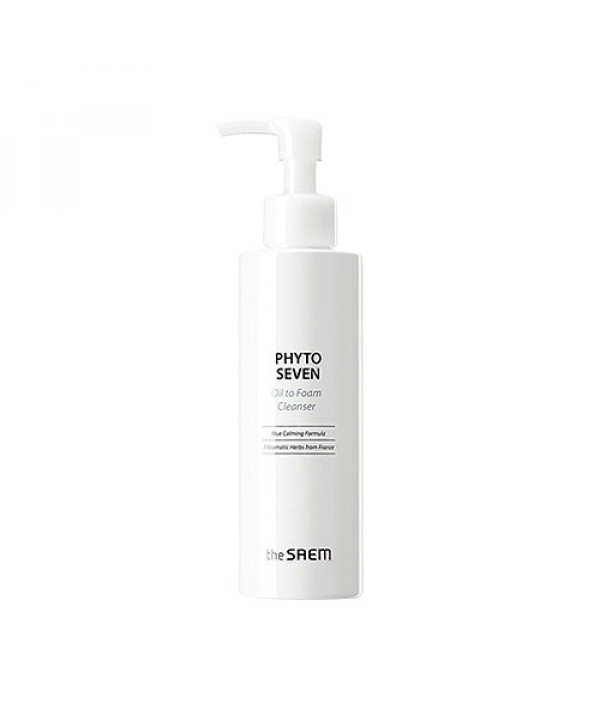 [THESAEM] Phyto Seven Oil To Foam Cleanser - 180ml