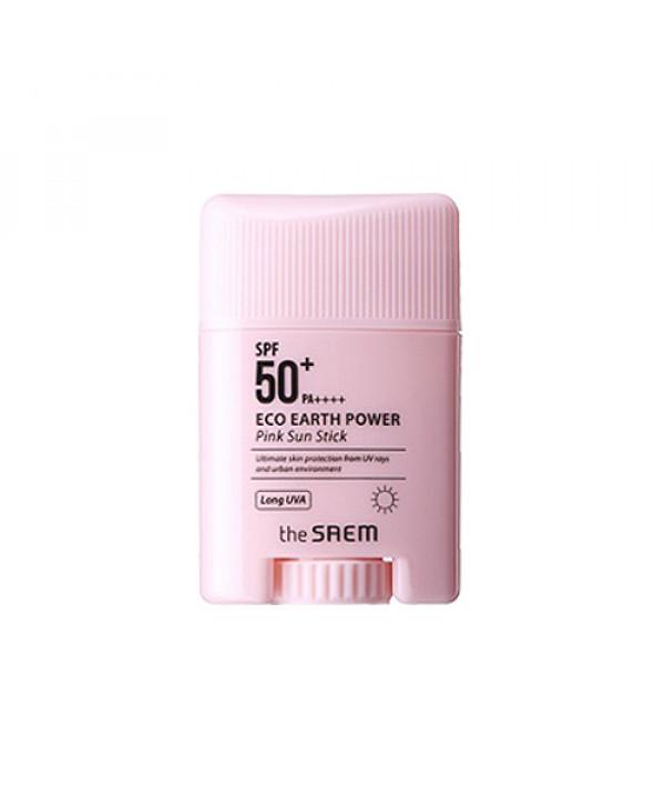 [THESAEM_50% SALE] Eco Earth Power Pink Sun Stick - 17g (SPF50+ PA++++)