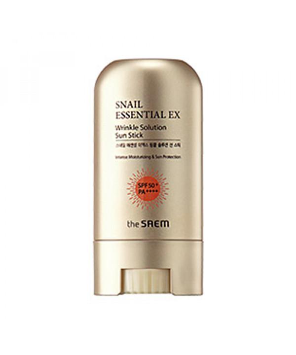 [THESAEM] Snail Essential EX Wrinkle Soution Sun Stick - 16g (SPF50+ PA++++)