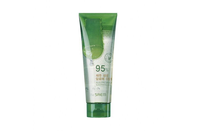 [THESAEM] Jeju Fresh Aloe Soothing Gel - 250ml (Tube)