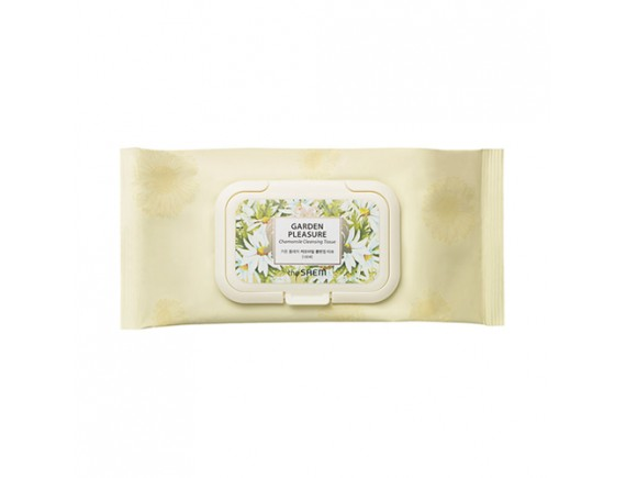 [THESAEM] Garden Pleasure Chamomile Cleansing Tissue - 1pack (100pcs)
