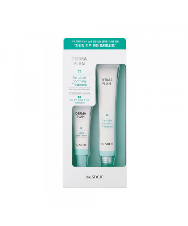 [THESAEM] Derma Plan Sensitive Soothing Treatment - 1pack (2items)