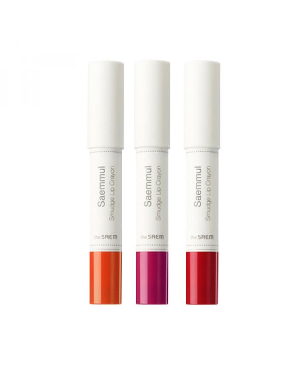 [THESAEM_50% SALE] Saemmul Smudge Lip Crayon - 2.5g