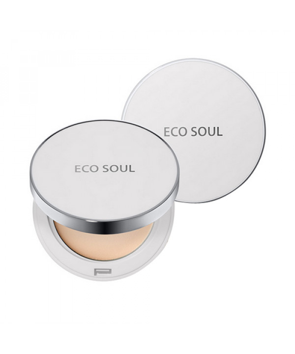 W-[THESAEM] Eco Soul UV Sun Pact - 11g (SPF50+ PA++++) x 10ea