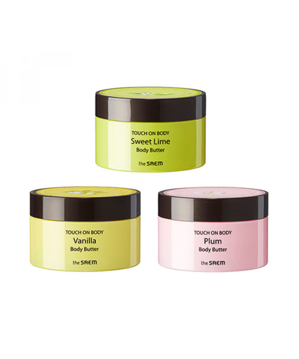 [THESAEM_LIMITED] Touch On Body Body Butter - 200ml (EXP 2021.09.28)