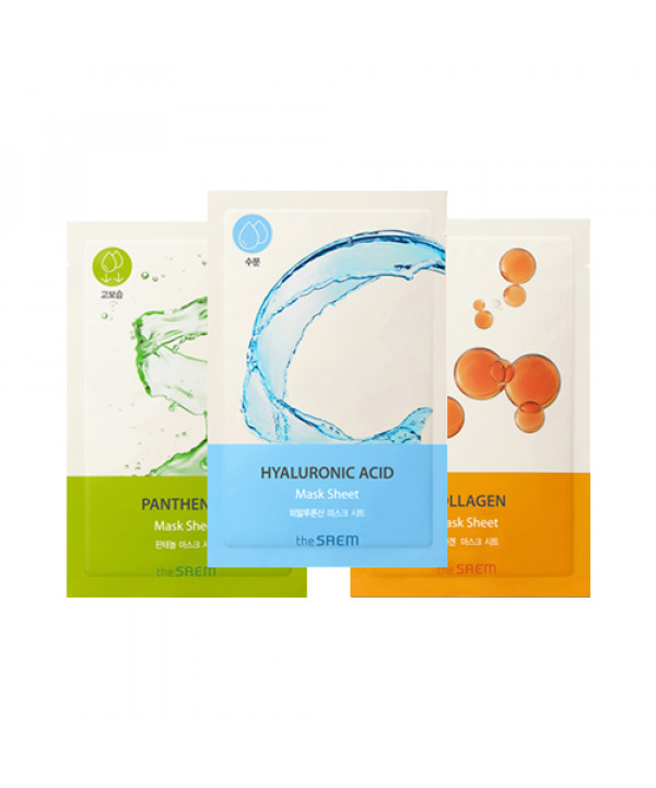 [THESAEM_50% SALE] Bio Solution Mask Sheet - 1pcs