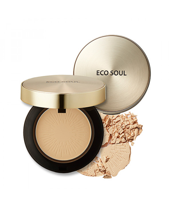 W-[THESAEM] Eco Soul Luxury Gold Pact - 9g (SPF30 PA+++) x 10ea