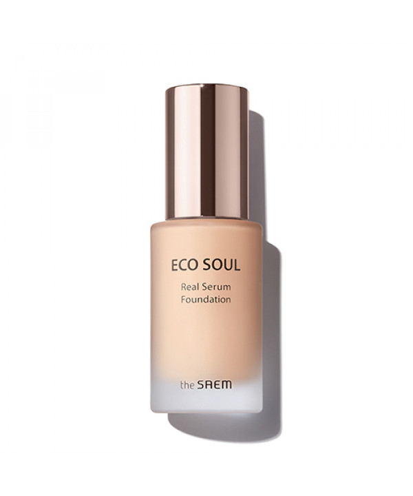 [THESAEM] Eco Soul Real Serum Foundation - 35ml (SPF50+ PA++++)