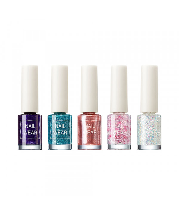 [THESAEM] Nail Wear (Glitter) - 7ml (36~59)
