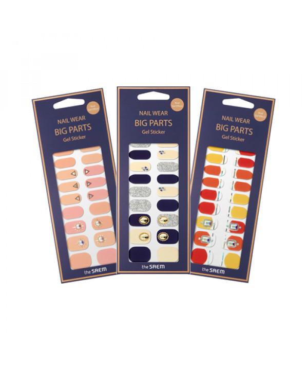 [THESAEM] Nail Wear Big Parts Gel Sticker - 1pack (24pcs)