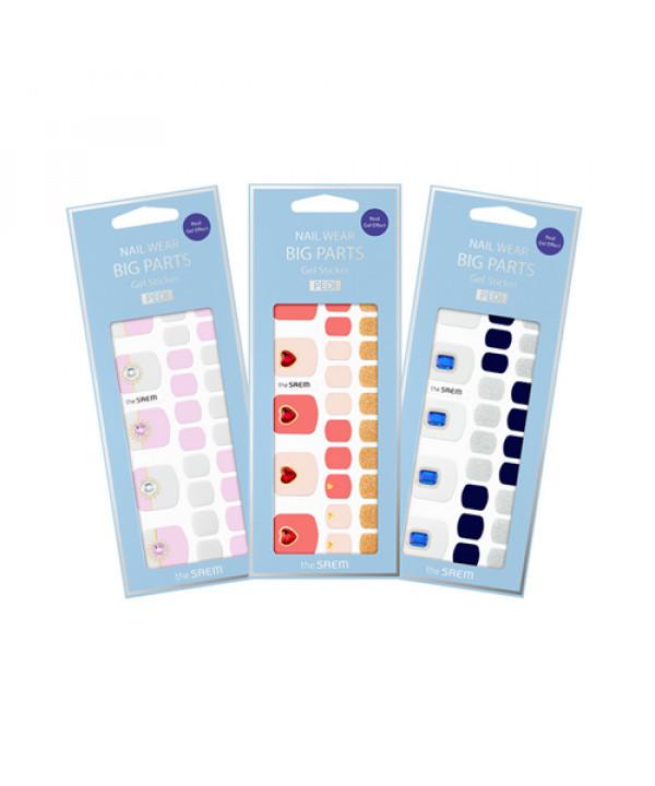 [THESAEM] Nail Wear Big Parts Gel Sticker Pedi - 1pack (32pcs)