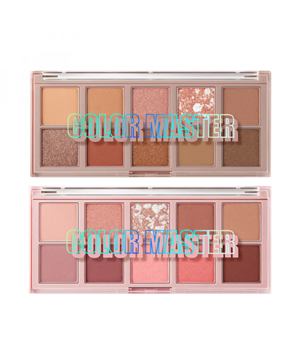 W-[THESAEM] Color Master Shadow Palette - 9g x 10ea