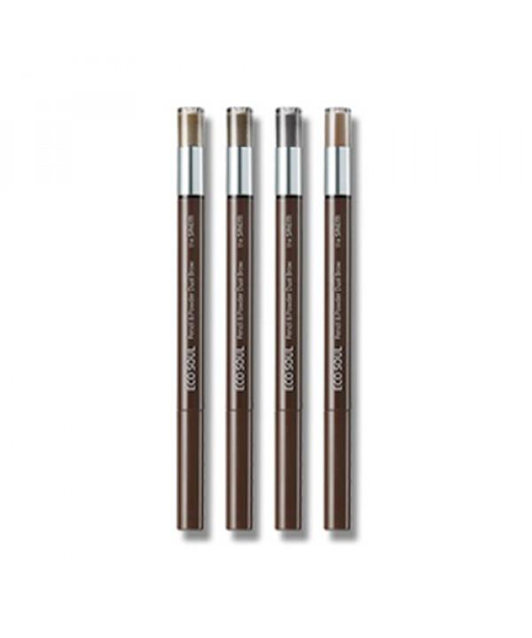 [THESAEM] Eco Soul Pencil & Powder Dual Brow (2021) - 0.8g