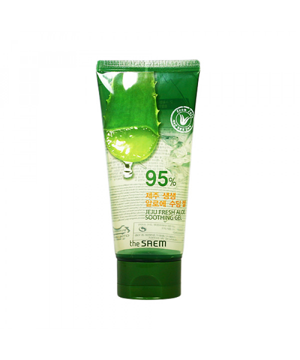 [THESAEM_Sample] Jeju Fresh Aloe Soothing Gel Sample - 120ml