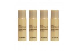 [THESAEM_Sample] Snail Essential EX Wrinkle Solution Emulsion Samples - 4ea