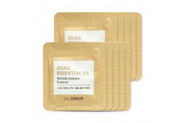 [THESAEM_Sample] Snail Essential EX Wrinkle Solution Essence Samples - 10pcs