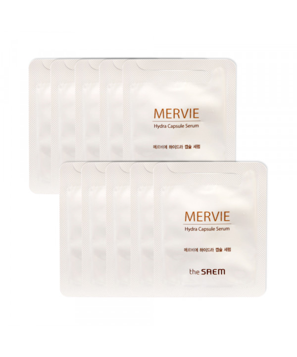 [THESAEM_Sample] Mervie Hydra Capsule Serum Samples - 10pcs