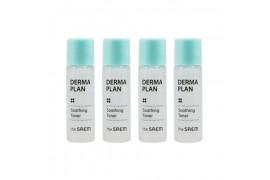 [THESAEM_Sample] Derma Plan Soothing Toner Samples - 4ea