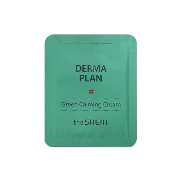 [THESAEM_Sample] Derma Plan Green Calming Cream Samples - 10pcs
