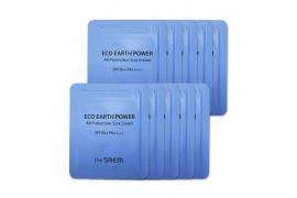 [THESAEM_Sample] Eco Earth Power All Protection Sun Cream Samples - 10pcs (SPF50+ PA++++)