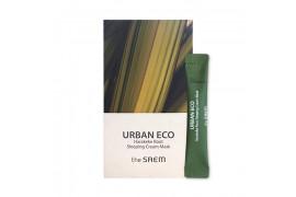 [THESAEM_Sample] Urban Eco Harakeke Root Sleeping Cream Mask Sample - 1pack (12pcs)