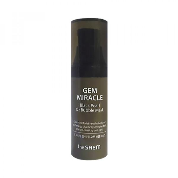 [THESAEM_Sample] Gem Miracle Black Pearl O2 Bubble Mask Sample - 10g